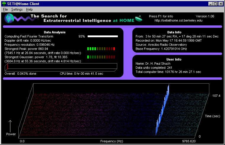 The SETI League, Inc : Interesting SETI@home Signals